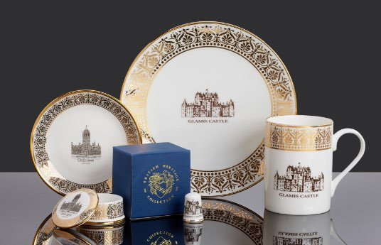 Gothic gold products for bespoke giftware