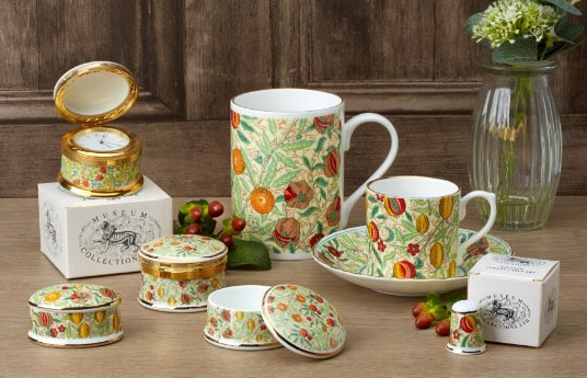 New Pomegranate collection from the William Morris collection