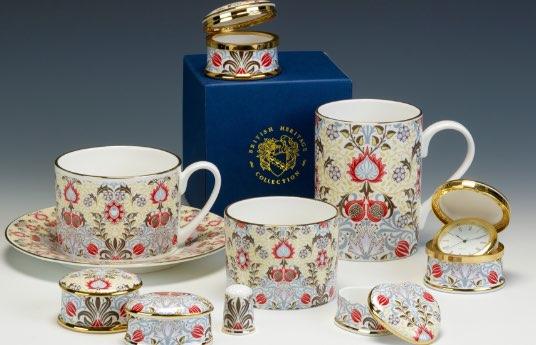 William Morris fine bone china giftware